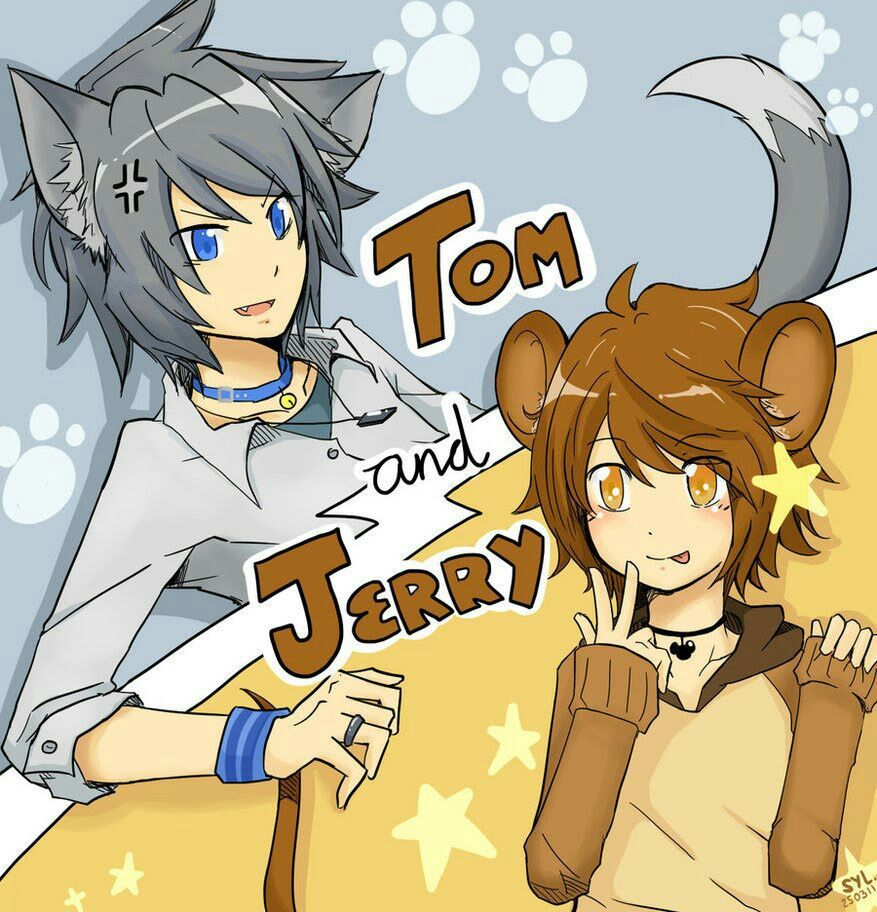 Human! Tom and Jerry x Owner! Reader - A Night of Disater in