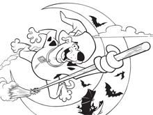 Scooby Doo Halloween Colouring Scooby Doo Activities Boomerang Scooby Doo Coloring Pages Detailed Coloring Pages Halloween Coloring Pages