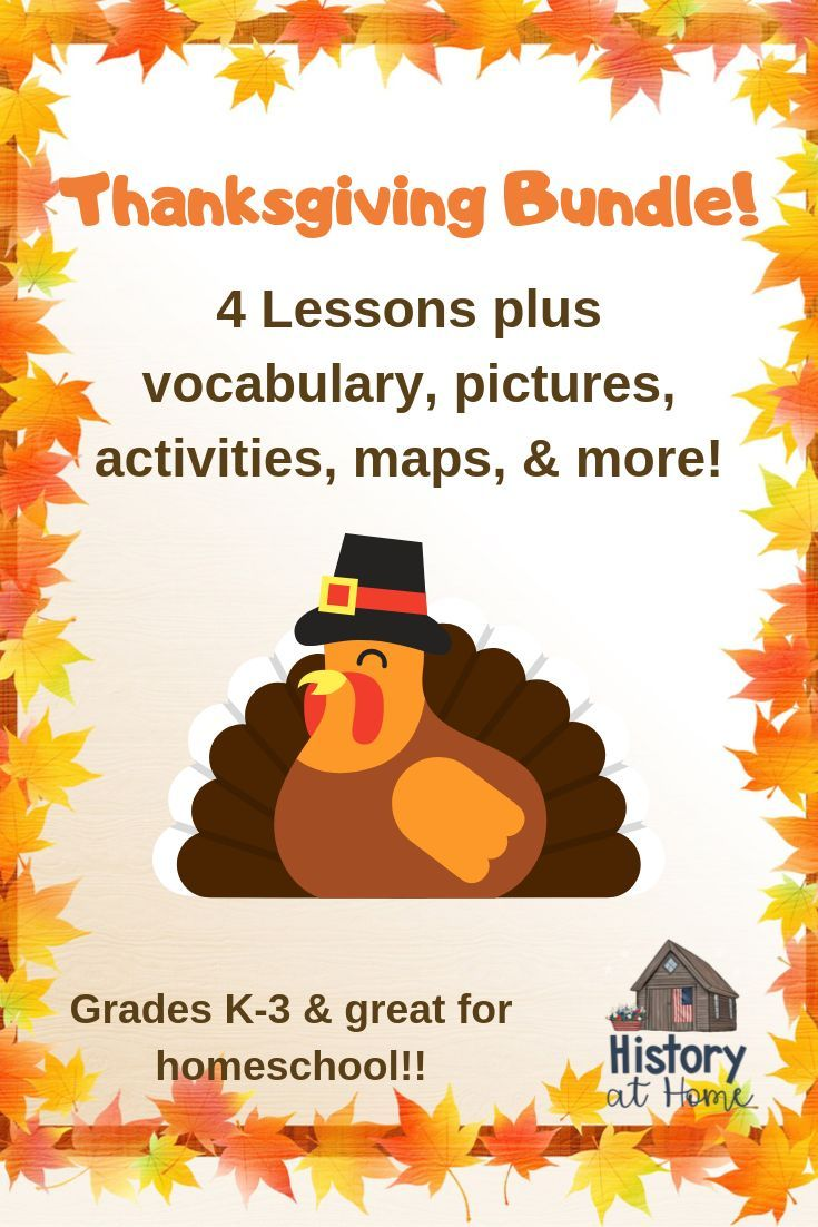 Photo of Thanksgiving History BUNDLE of 4 Lessons for Grades K-3 and Distance Learning