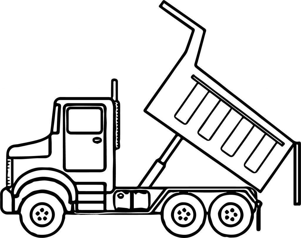 Best Hd Dump Truck Drawing File Free