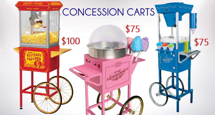 Catering Concessions Machines Rentals Party Rental Supplies Party Rentals Bouncy House