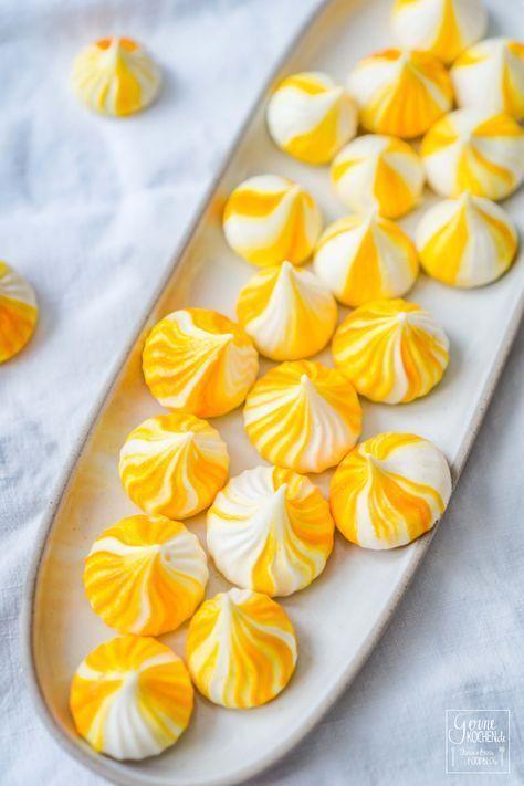 Zitronen-Baiserküsschen/Lemon Meringue - Süsse Kleinigkeiten | Sweet tooth -