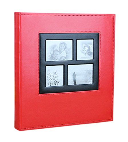 Remeehi High Capacity Photo Album 400 Pocket Leather Cover Vintage