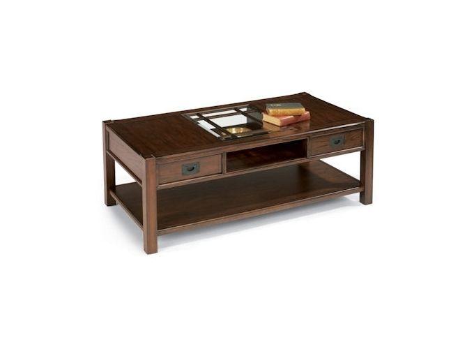 Sonoma Rectangular Cocktail Table At Doerr Furniture Store