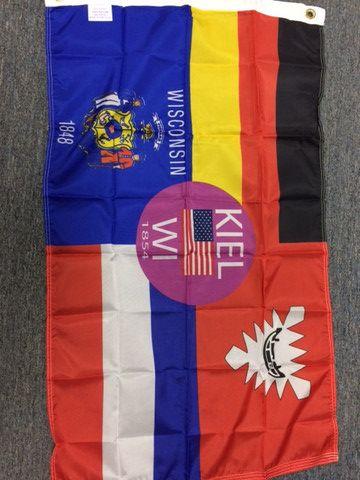 City of Kiel Flag - Fly-Me Flag | Custom Flags | Flag, Custom flags