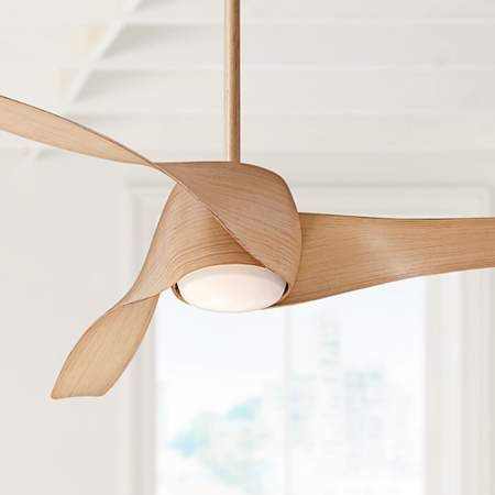 "Ceiling Fans | 58"" Artemis Maple LED Ceiling Fan"