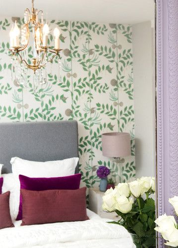 Love The Quirky Twists To This Classic Bedroom With Cole And Son