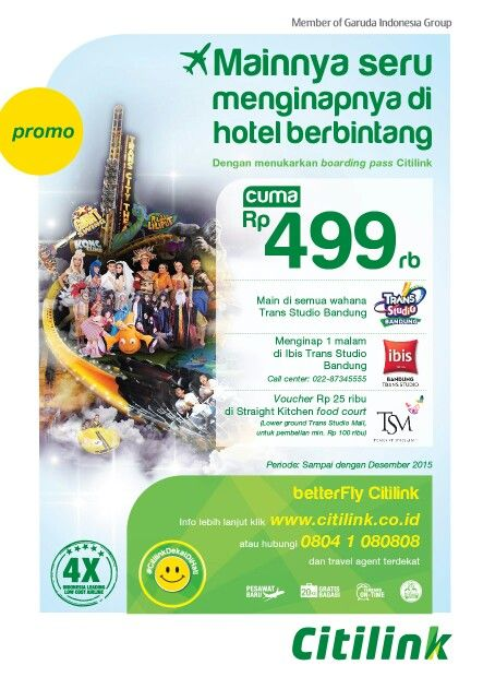 Grab It Fast Visit Bandung With Citilink Show Your Boarding Pass