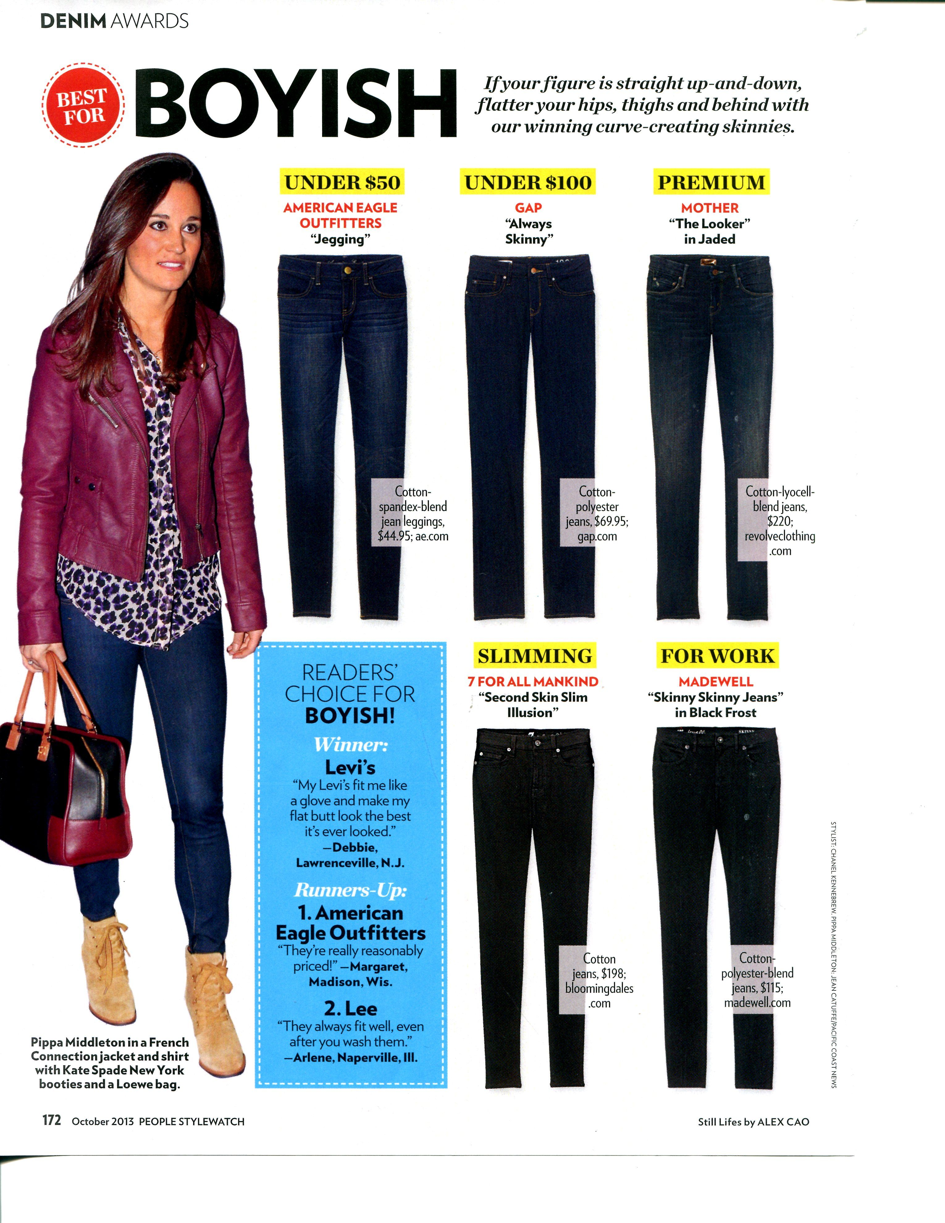 5cdd9941e251f Jeans for Boyish Figures - People StyleWatch   How to be a ...