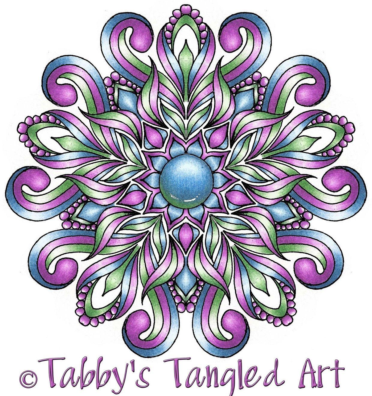 Floral Mandalas Coloring Pages 10 Mandalas Pdf In 2019 Mandala