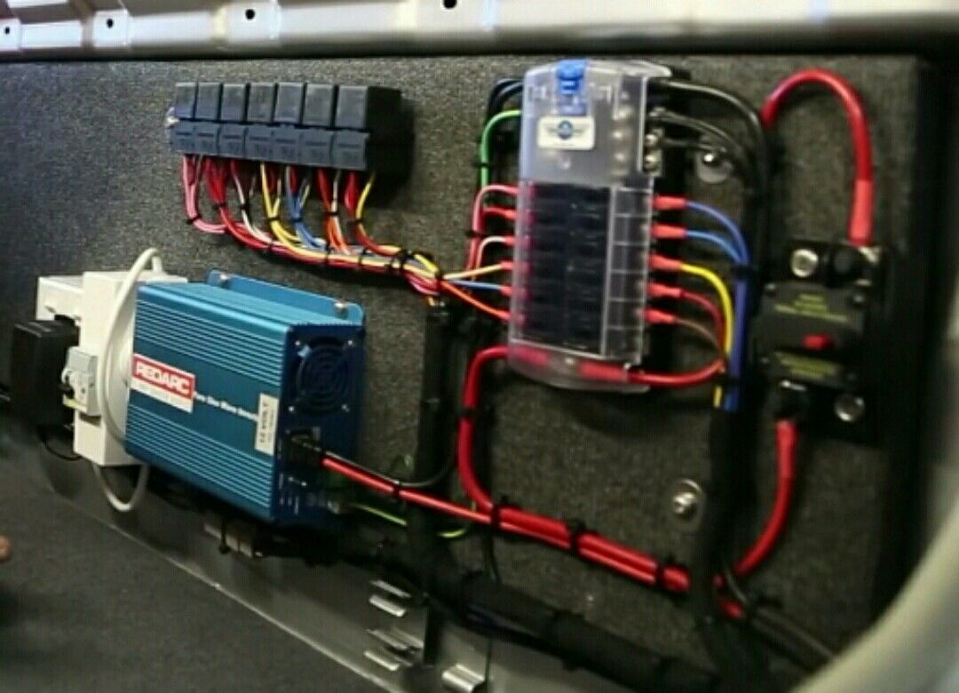 Wiring 12v Accessories To 36v System