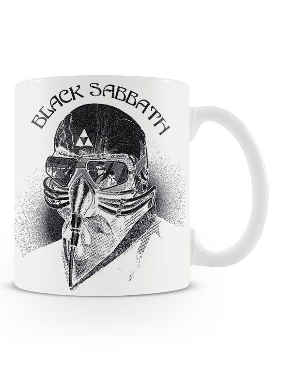 Caneca Black Sabbath | Uma loja de caneca  #rock #canecas #heavymetal #rocknroll #canecas #musica #bandas #sabbath