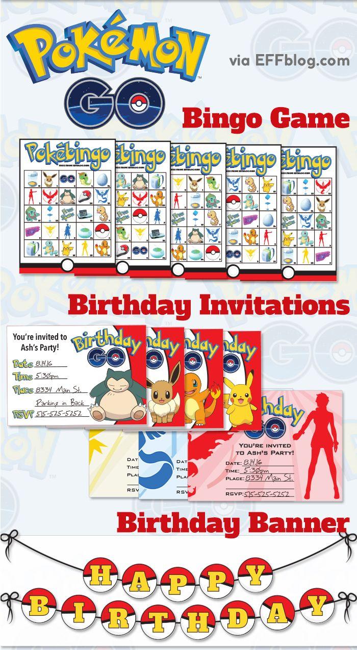 Fullsize Of Pokemon Birthday Invitations