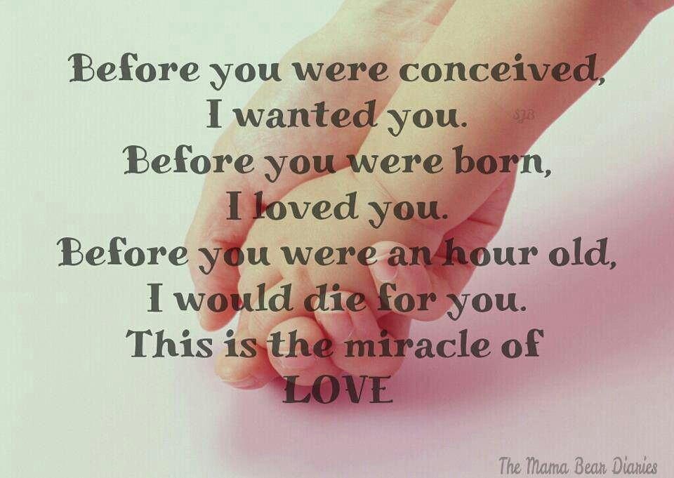 Motherly Love. Motherhood. Parenthood. Love Quotes. Life