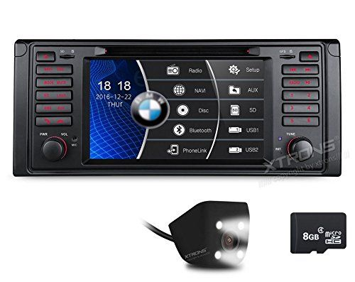 Xtrons 7 Inch Hd Digital Touch Screen Car Stereo Radio Indash Dvd Player With Gps Navigation Canbus For Bmw 5 Touch Screen Car Stereo Car Stereo Gps Navigation