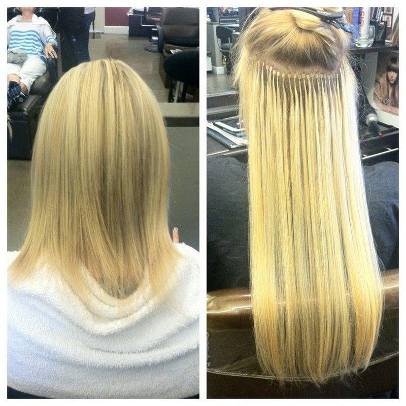Micro Link Hair Extensions15 hair Pinterest Micro