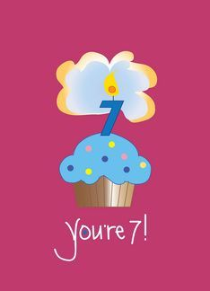 Pin by debbie wolfe on happy birthday pinterest happy birthday fun cupcake birthday card for special 8 year old inside says happy birthday to a very special eight year old bookmarktalkfo Images