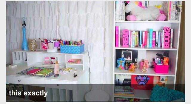 Bethany Mota S Desk And Bookcase