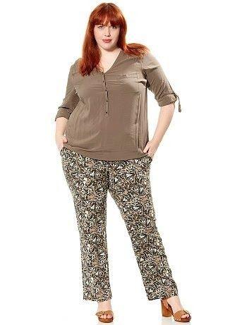 Pantalones Casuales Para Gorditas En 2019 Diseno Pantalones