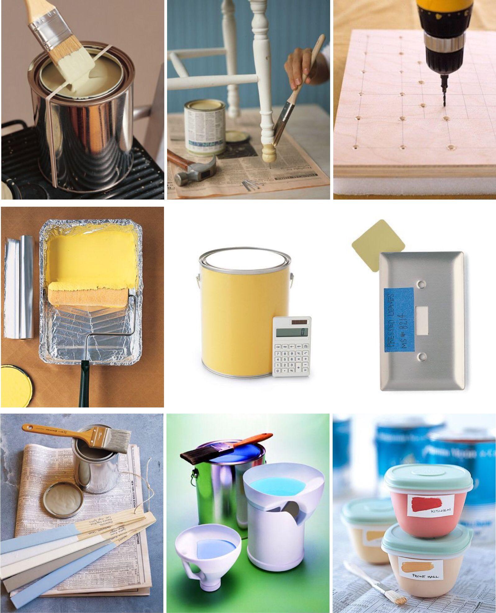 'Good Things for Painting...!' (via Martha Stewart)