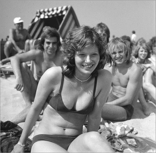 Deutscher Vintage-Sex Am Strand