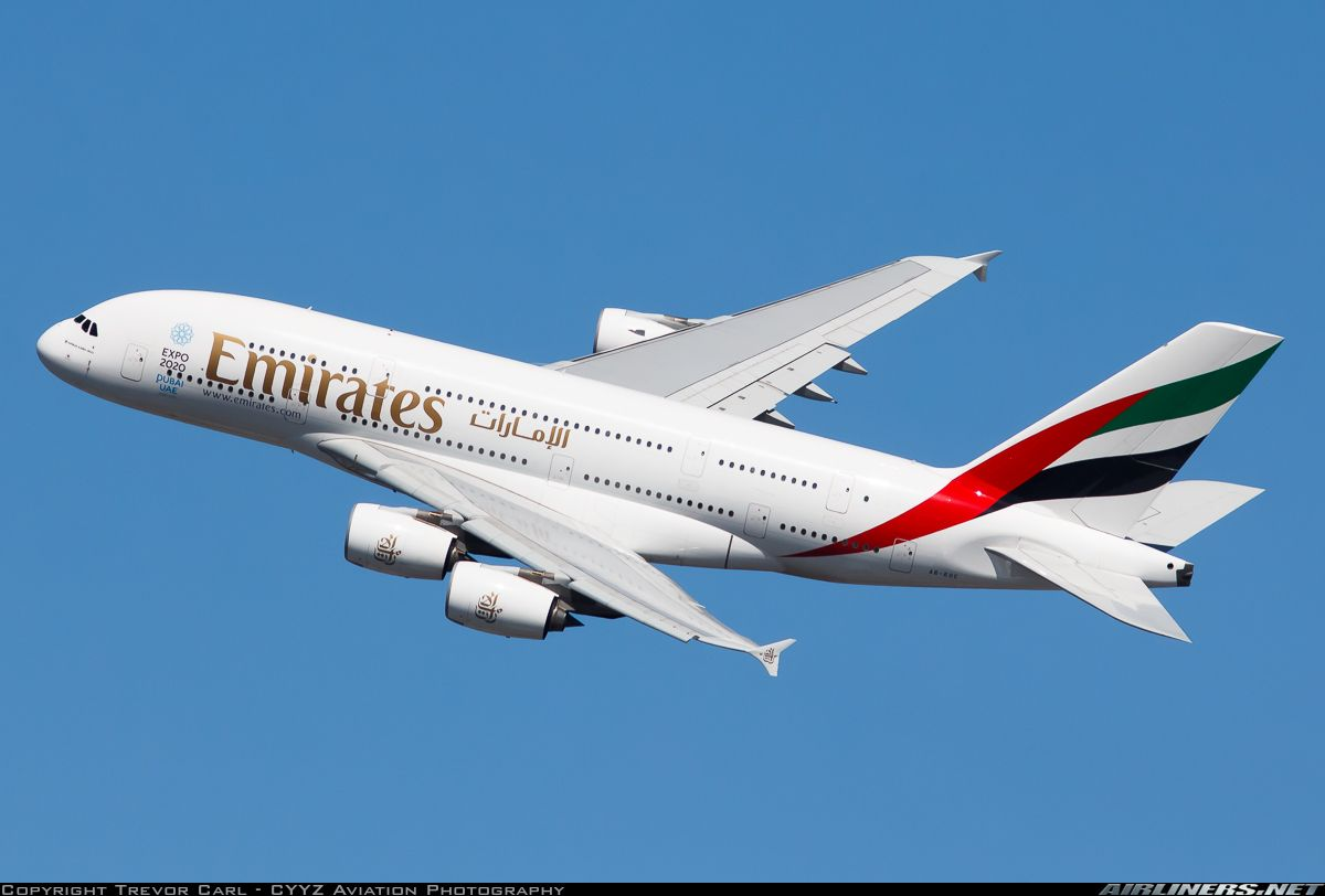 Airbus A380 861 Emirates Aviation Photo 5129797 Airliners