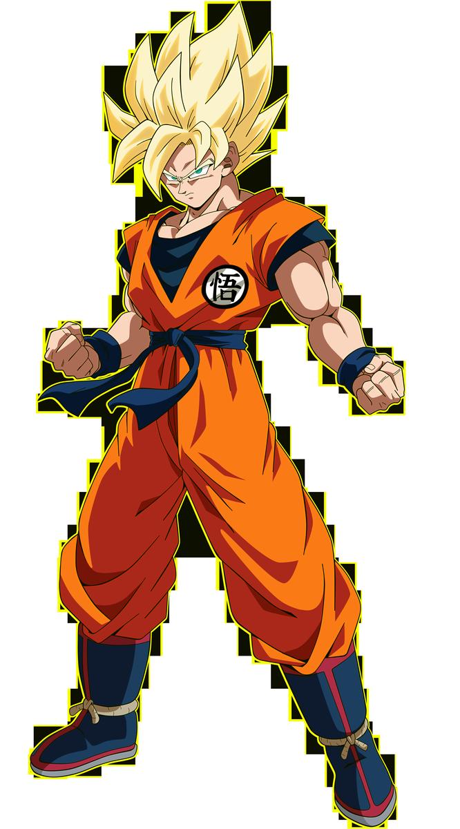 Goku - Dragon Ball Super Broly by SaoDVD on DeviantArt