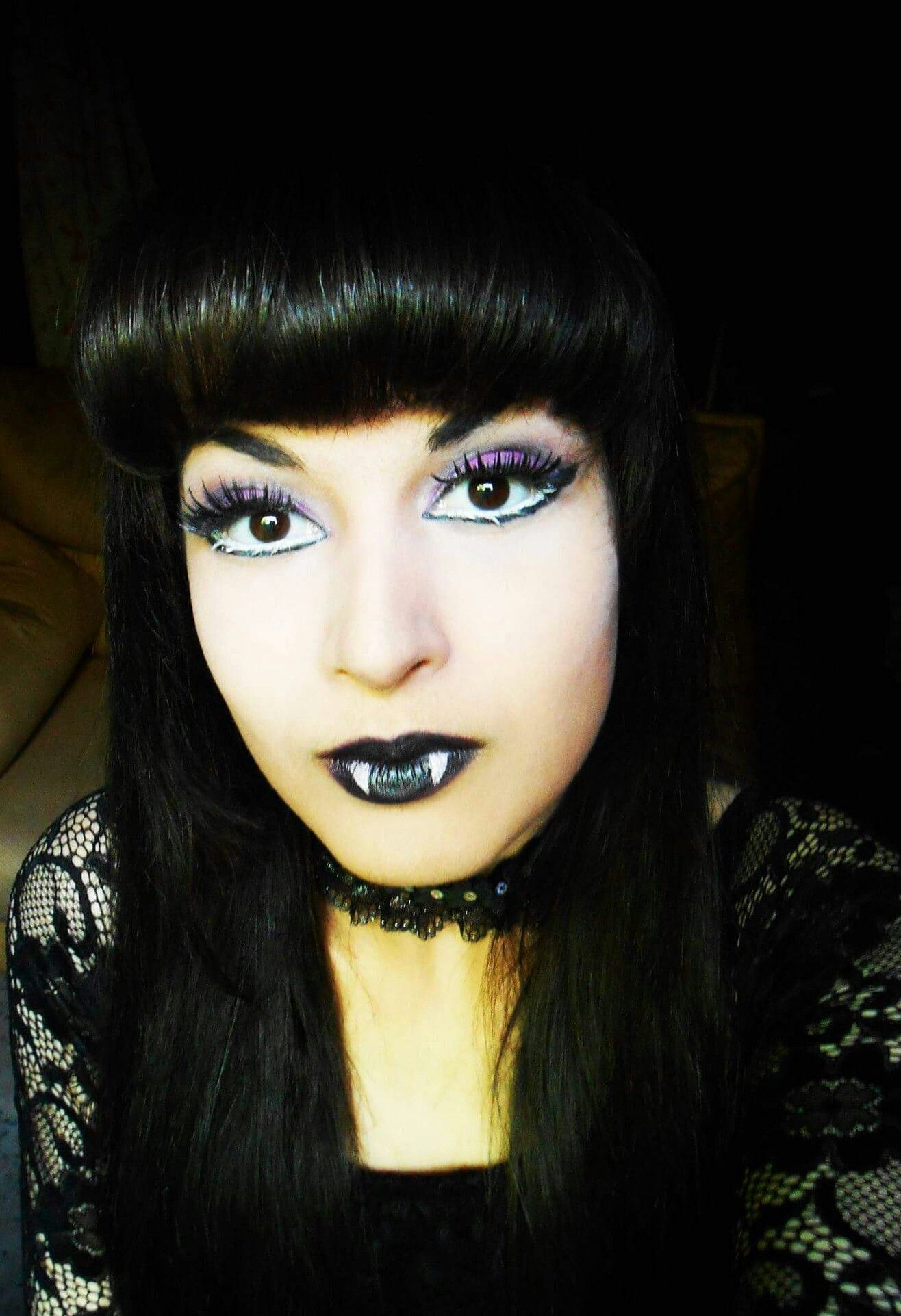 Make of Vampire Elizabeth of Monster High Makeup Artist by