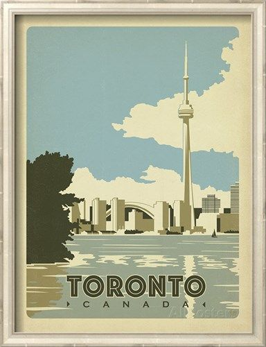Image result for Toronto antique posters