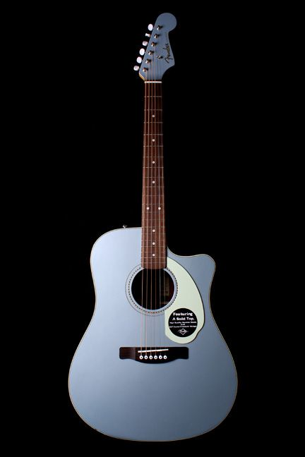 Fender Sonoran Acoustic Electric Blue