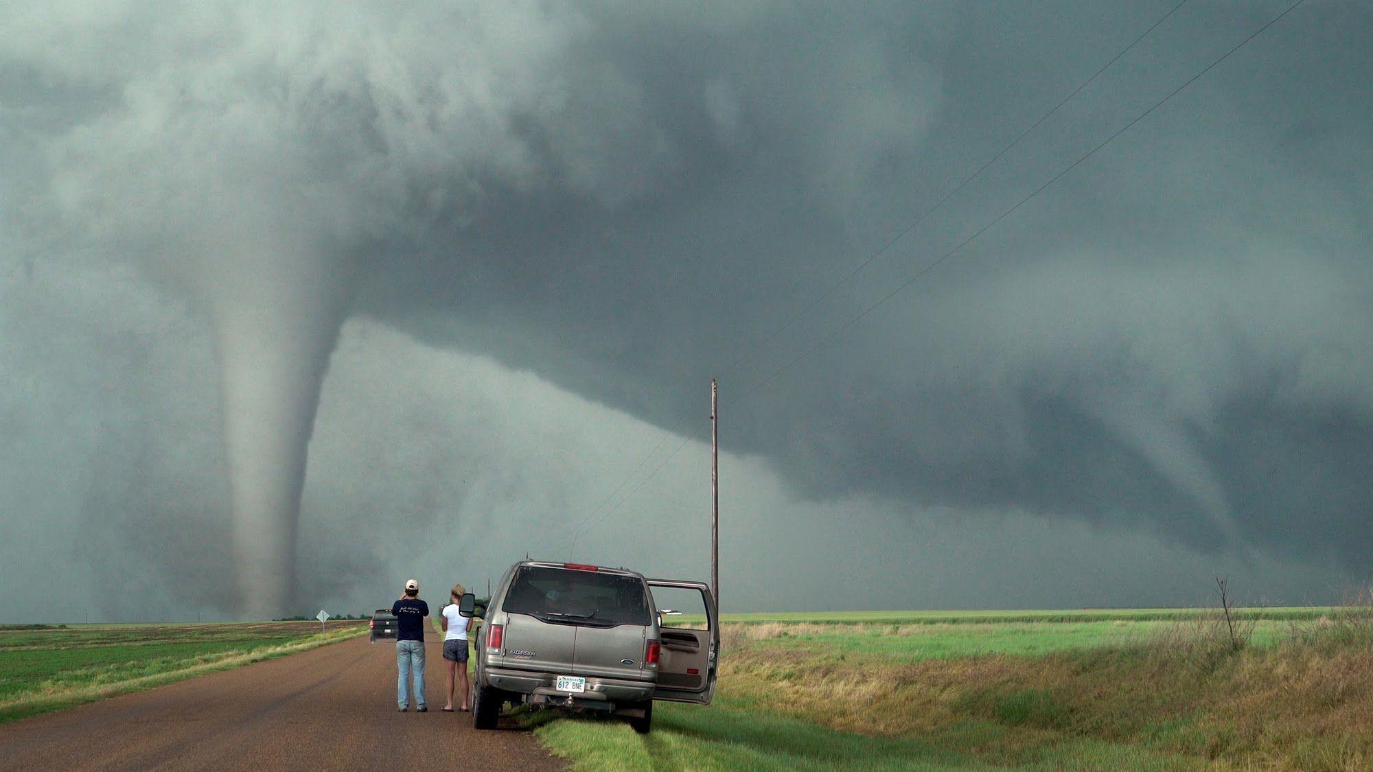 Tornado Twins Triplets Unusual Twisted Tornado Family Of May