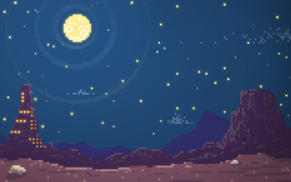 Pixel Desert by Charles Frumerie, via Behance | Inspired ...