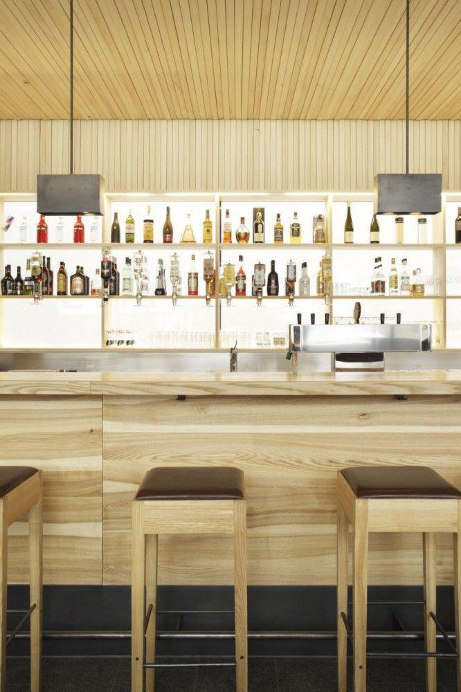 best restaurant interior design ideas bar cafe wood decor austria