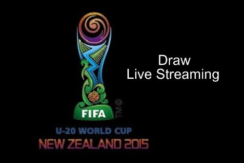 Official Draw Of 2015 Fifa U 20 World Cup Schedules To Hold On 10 February At Auckland The Live Streaming Of Draw Can Be Watched Fifa World Cup Live Streaming