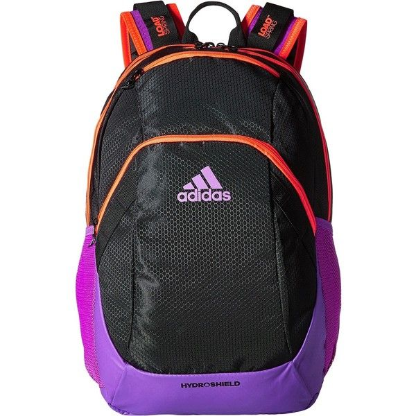 b607433c56a1 adidas Pace Backpack (Black Solar Red Shock Purple) Backpack Bags (59 CAD)  ❤…