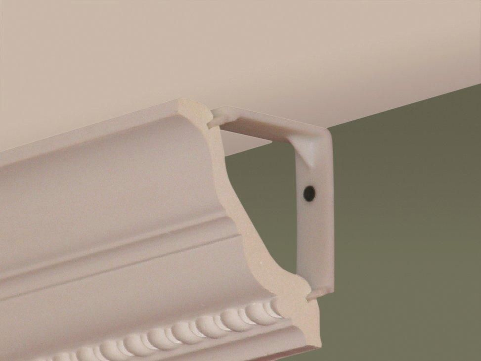 Quick Clip Patented System For Installing Crown Molding Available In 4 1 8 21105 And 5 7 8 21205 Optio Crown Molding Styles Diy Crown Molding Molding