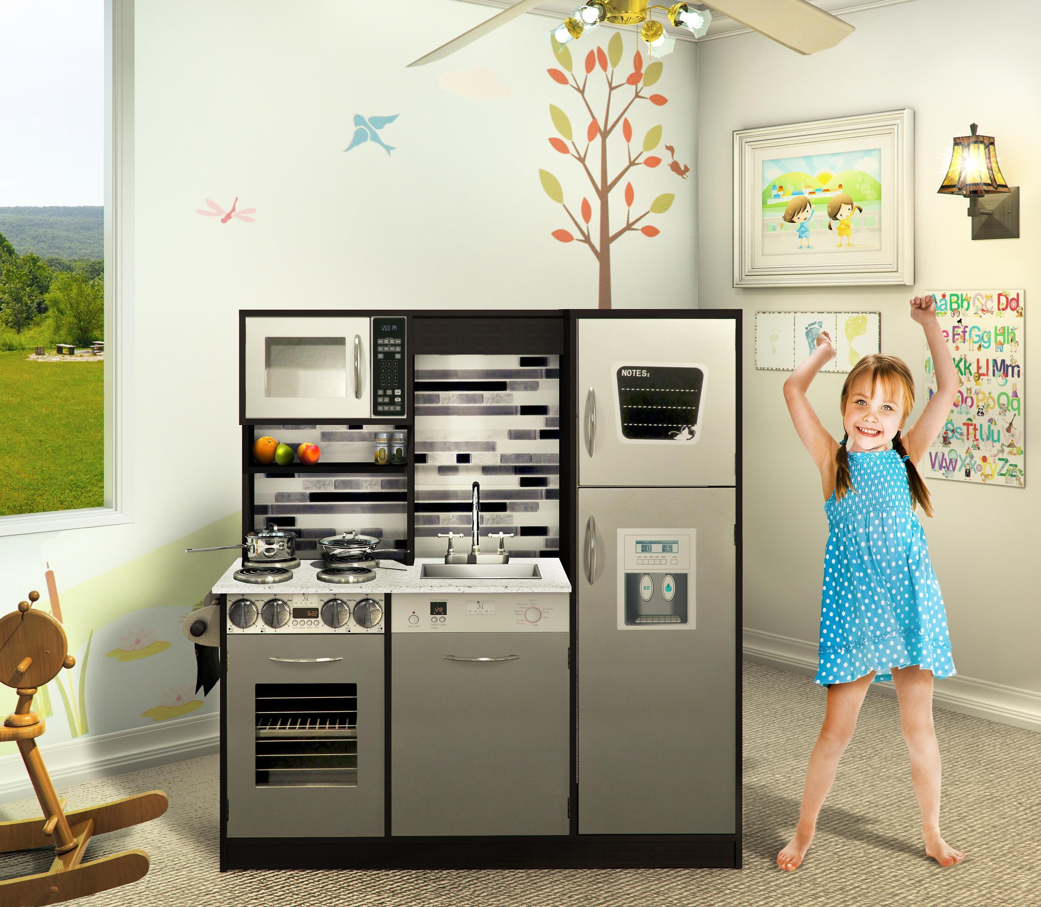Naomi Kids Gourmet Kitchen Set | Toy kitchen set, Kids toy ...