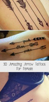 Photo of Arrows are quickly becoming some of the most popular designs for tattoos. With a …