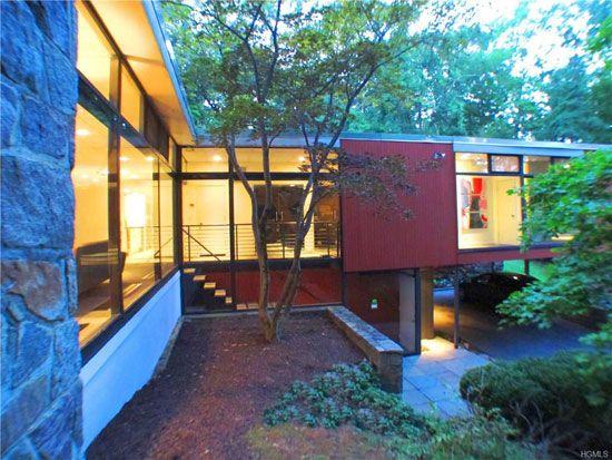 1950s modernist property in New Castle, New York, USA | Lovely Mid ...