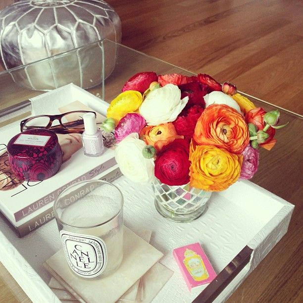 what to put on a coffee table tray. 1000 images about decorating with trays  on