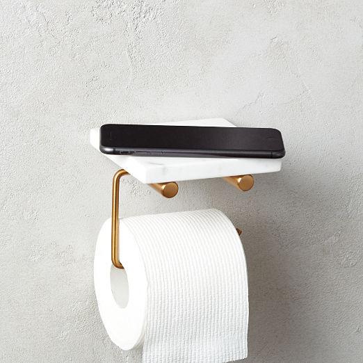 Modern Towel Racks Towel Hooks Toilet Paper Holders More Cb2 Wall Mounted Toilet Toilet Paper Holder Modern Towels