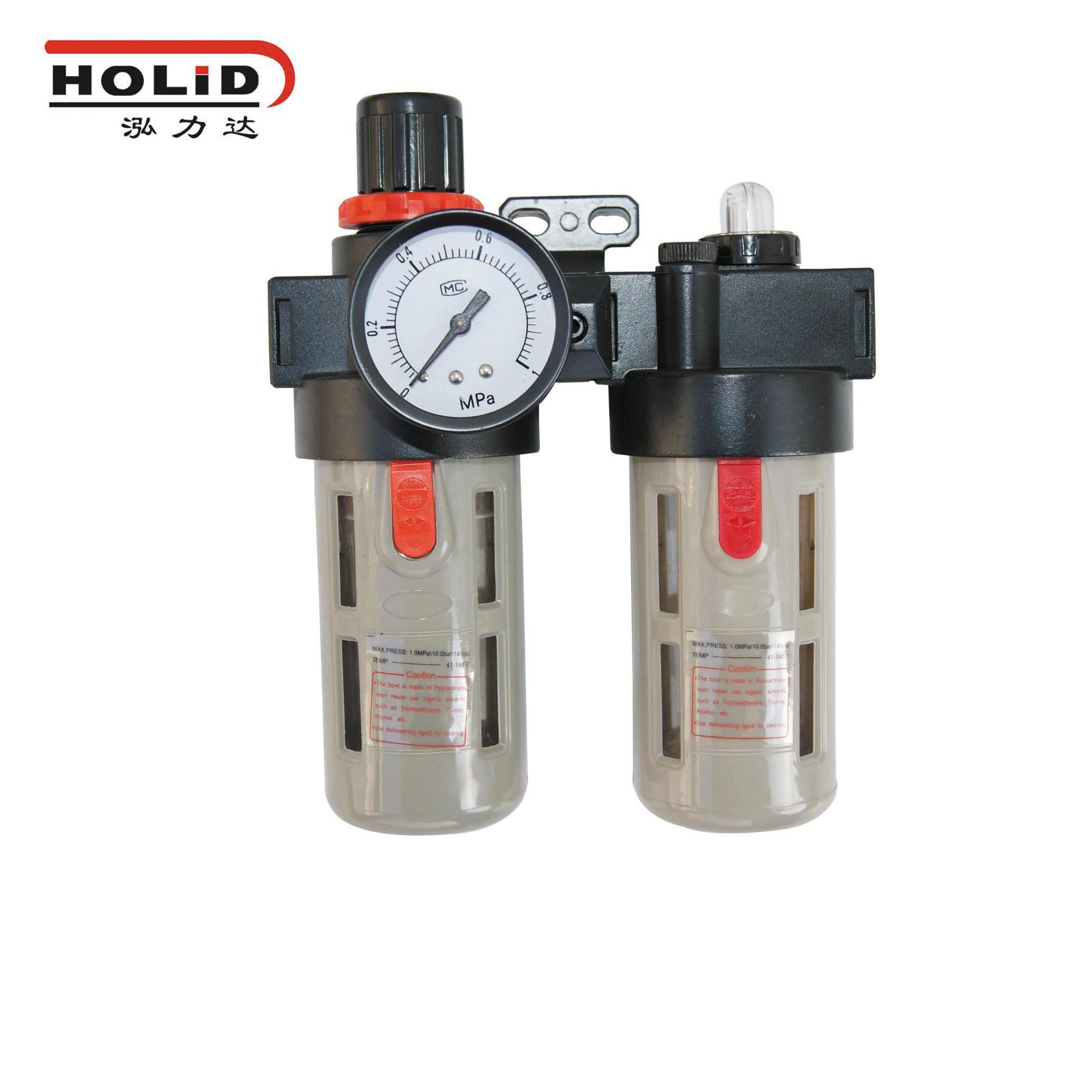 filter regulator can automatically drain with the built