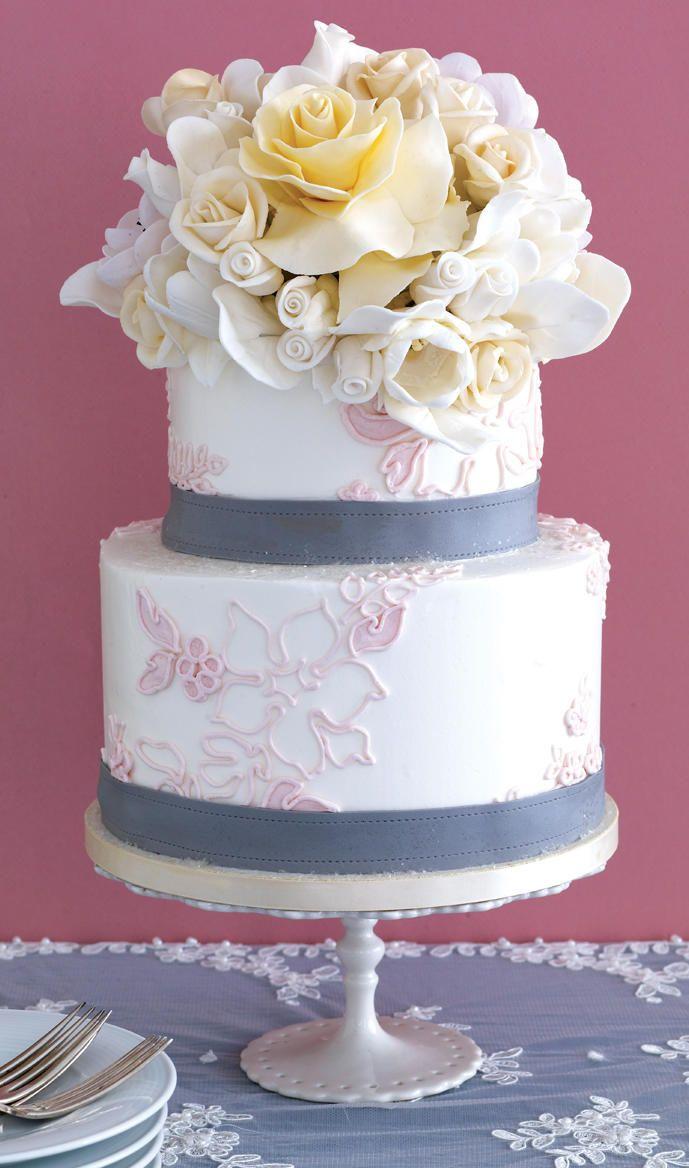 The 25 Prettiest Wedding Cakes Weve Ever Seen Pinterest Pretty