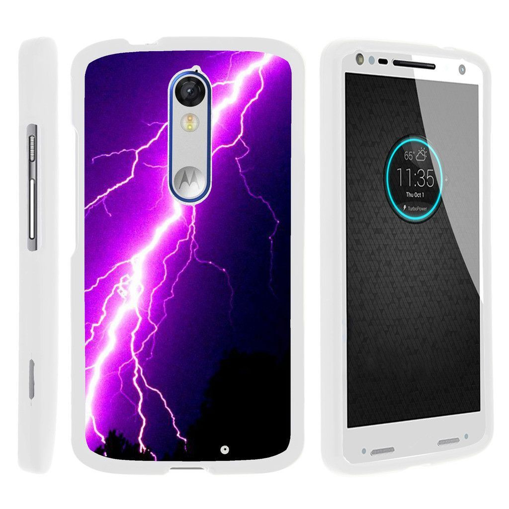 sale retailer ac93d 0c3c2 Droid Turbo 2 Case SNAP SHELL White 3 IN 1- Slim Hard Fitted Case ...