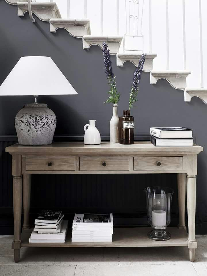 Console table home decor pinterest console tables consoles and house Pinterest home decor hall