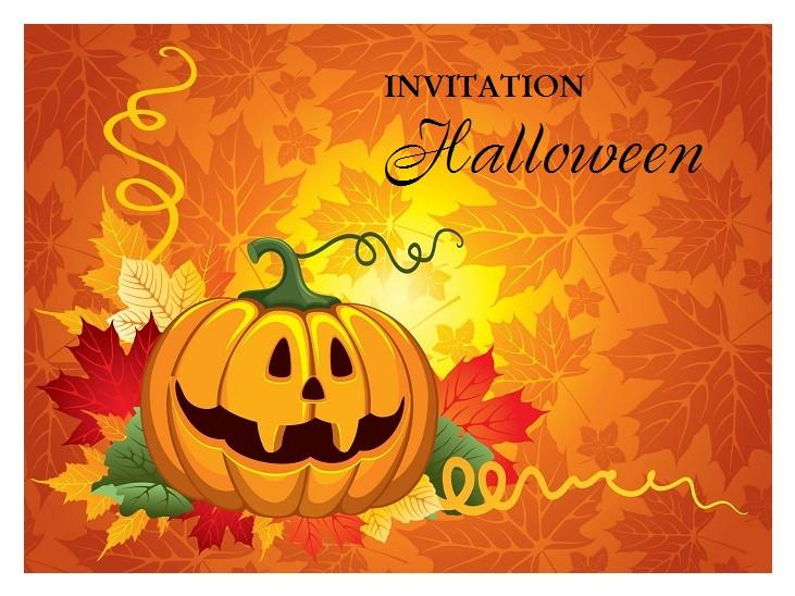 Invitation Anniversaire Halloween Gratuite Imprimer