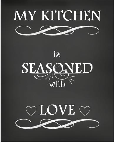 Free Printable Kitchen Chalkboard Wall Art Kitchen Wall Art Printables Kitchen Wall Art Diy Kitchen Wall Art