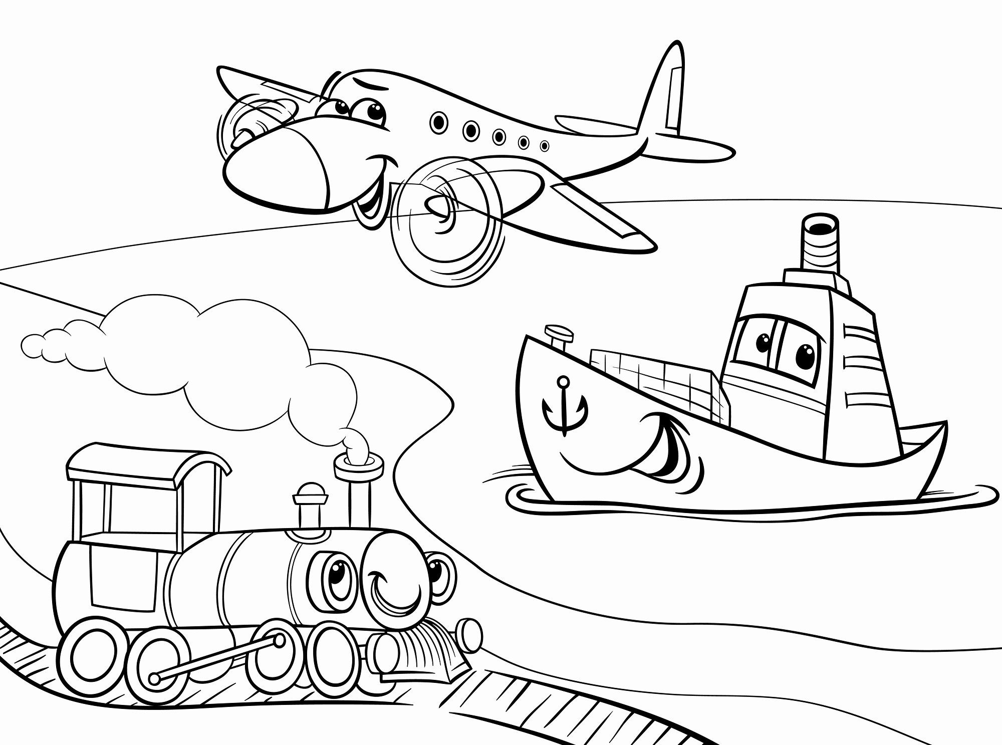 Land Transport Coloring Pages Luxury Road Trip Ideas For Kids Travel Snacks Games My Life Cartoon Coloring Pages Coloring Pages Train Cartoon