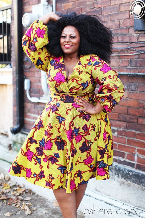 8b6e7815e22 Trendy Ankara Styles For Plus Size Ladies