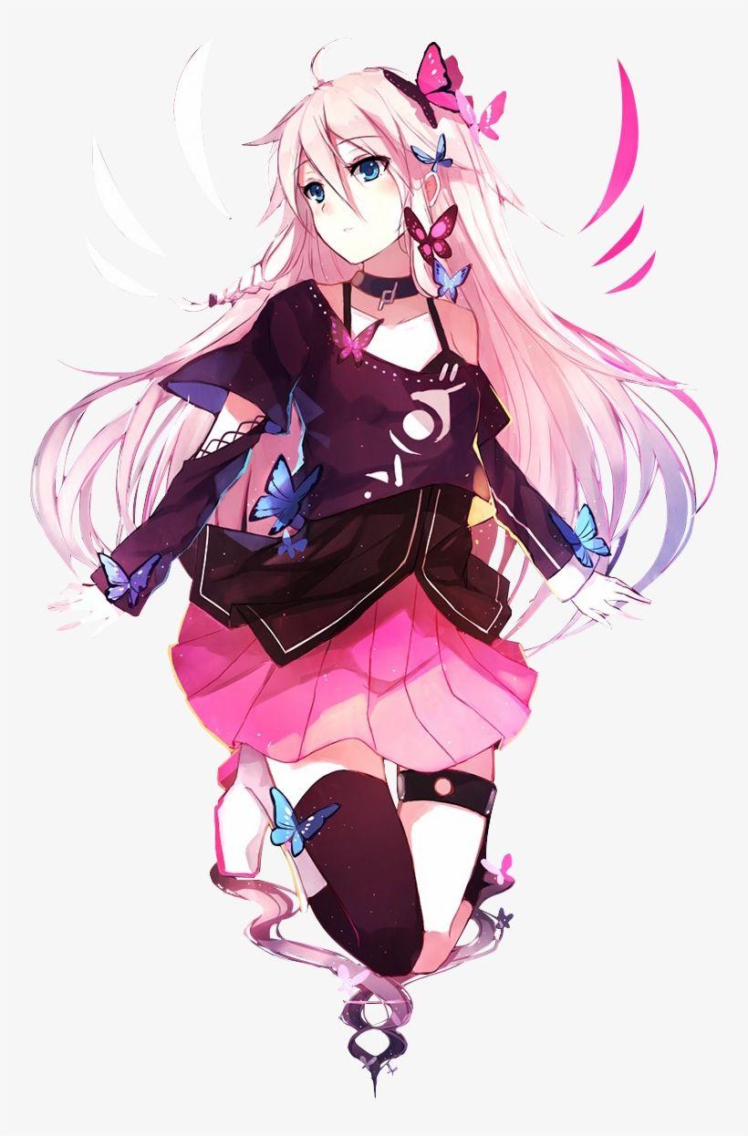 Pin on Anime girl pink